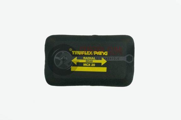 Radiál tapasz MCX20  75x100 mm