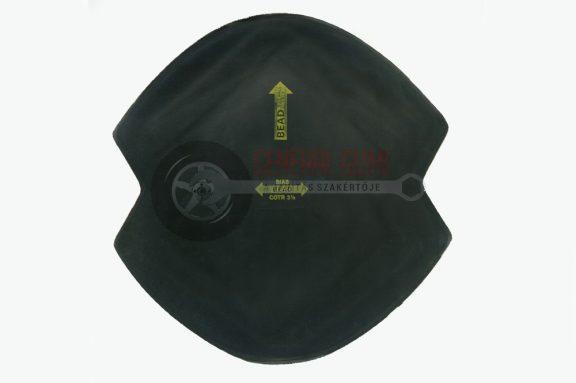 Diagonál tapasz földmunkagép COTR5  455x455 mm