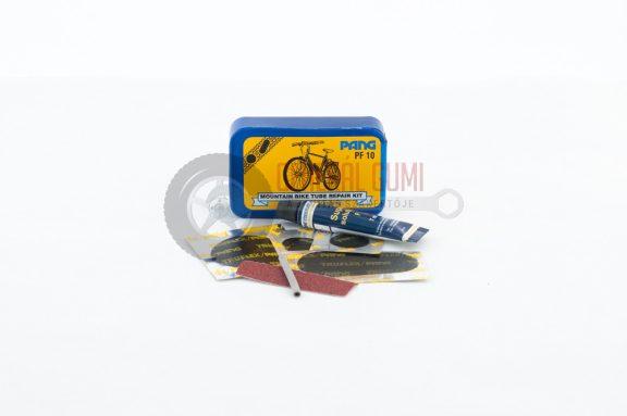Javító készlet Pf10 Kerékpár tömlőhöz,     7 ml oldattal