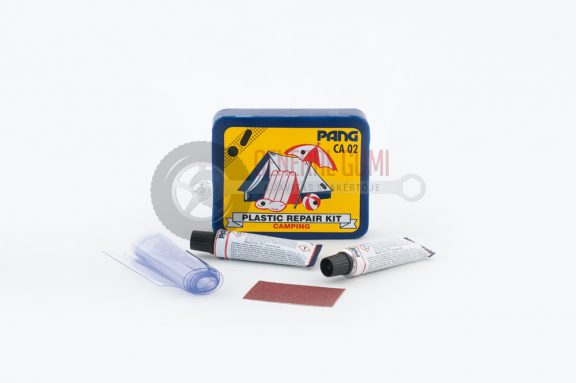 Javító készlet CA02 Kemping (PVC/PU), 2x14 ml oldattal