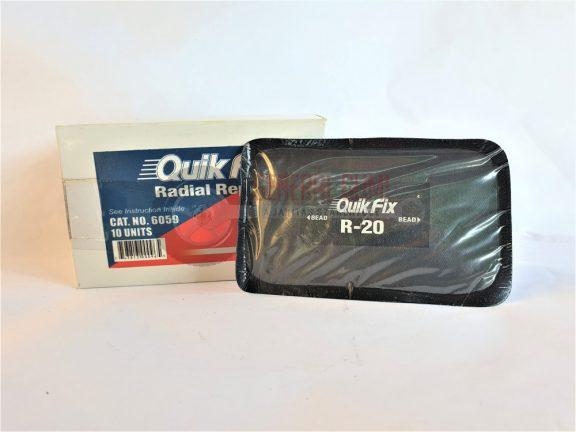 Radiál tapasz R-20 75x125 mm, QF 6059