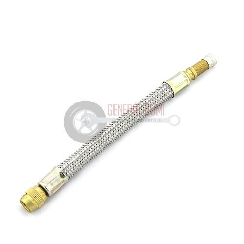 FVE160B Fémhálós szelephosszabbító, flexibilis, L160, BL