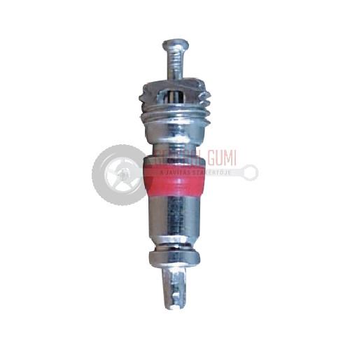TRC1-HT Réz-nikkel rövid szeleptű, piros hőálló teflontömítéssel BL