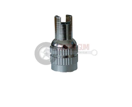 TRVC4 Fém-nikkel szelepsapka, MG szeleptűkitekerös, BL