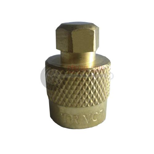 TRVC7 Réz MG szelepsapka, 6 szögletű fejjel, BL