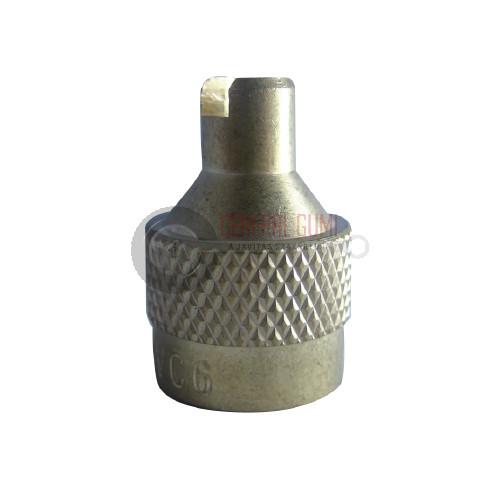 TRVC6 Réz MG szelepsapka, szeleptűkitekerös, BL