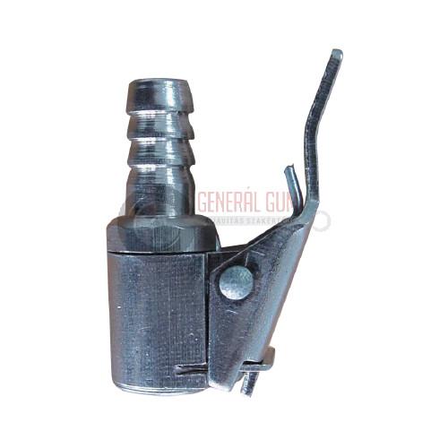 AC108-1 Csatos pumpavég, nyitott, króm, D8 mm BL