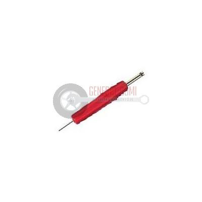 VT01D Szeleptű tekerő, kétoldalas, piros, BL