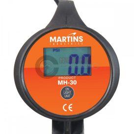 MARTINS MH-30 digitális kézi abroncstöltő, 1,83 m tömlővel,12 bár