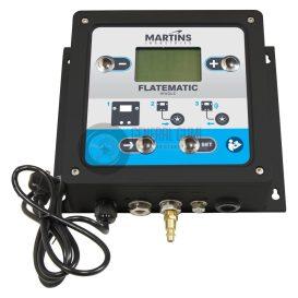 MARTINS MW-60 digitális fali automata abroncstöltő, 1 kimenettel, 7,6 m tömlővel, 10 bár