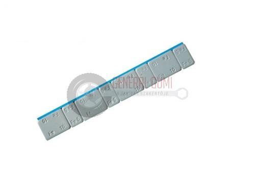 Ragasztható vassúly 3,8 mm, CHH 4x5g + 4x10g, 60g, bevonatos szürke