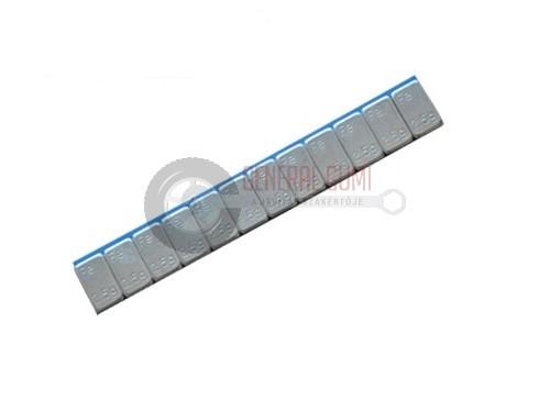 Ragasztható vassúly 2,3 mm, SLIM, CHH 12x2,5g, 30g, bevonatos cink