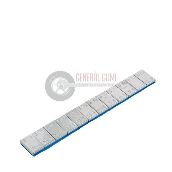 Ragasztható vassúly, 3,8 mm, CHY 12x5g, 60g, bevonatos szürke