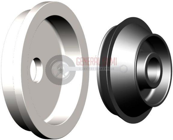 Támasztótárcsás kúp készlet, Ø36=122-174 mm, HWK 150 360 091