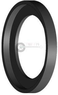Gumi lemezfelni szorítógyűrűhöz, HWK 190 008 005