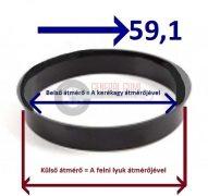 Központosító gyűrű  72,0-59,1