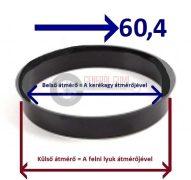 Központosító gyűrű  73,1-60,4