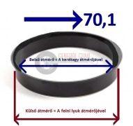 Központosító gyűrű  73,1-70,1