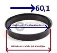 Központosító gyűrű  76,1-60,1
