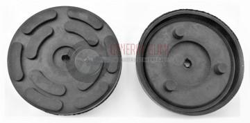 GP9 gumipogácsa csápos emelőhöz, D135 mm
