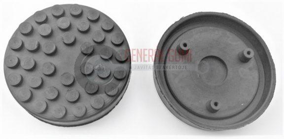 GP12 gumipogácsa csápos emelőhöz, D140 mm