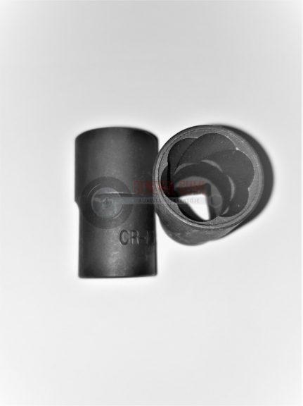 """Sérült kerékcsavar kiszedő légkulcsfej, 1/2""""-17 mm QR"""