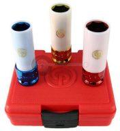 CP légkulcsfej készlet alufelnihez, 3 darabos,17-19-21, (SS413WP)